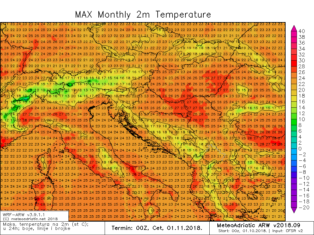 Maksimalna temperatura