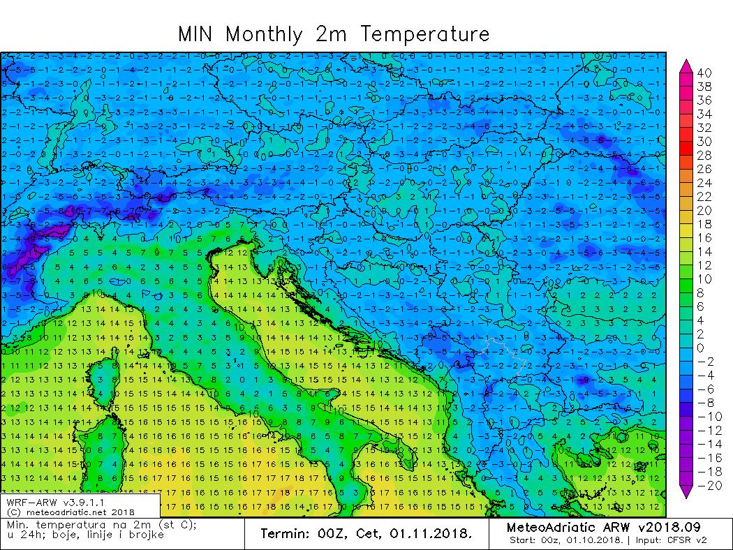Minimalna temperatura
