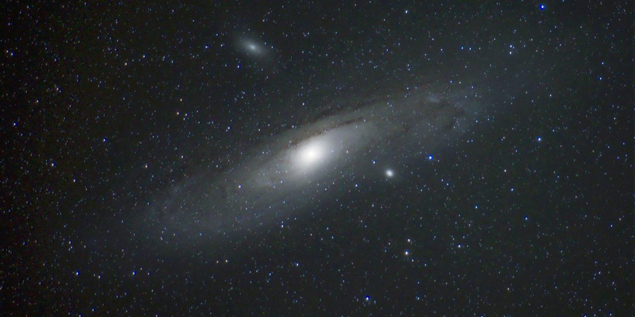 Andromeda kroz objektiv