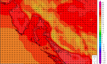 Temperature idućih dana i preko 35°C?