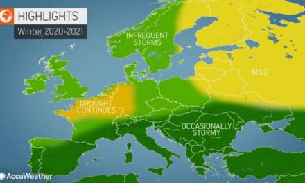 Accuweather sezonska prognoza za zimu 2020/21