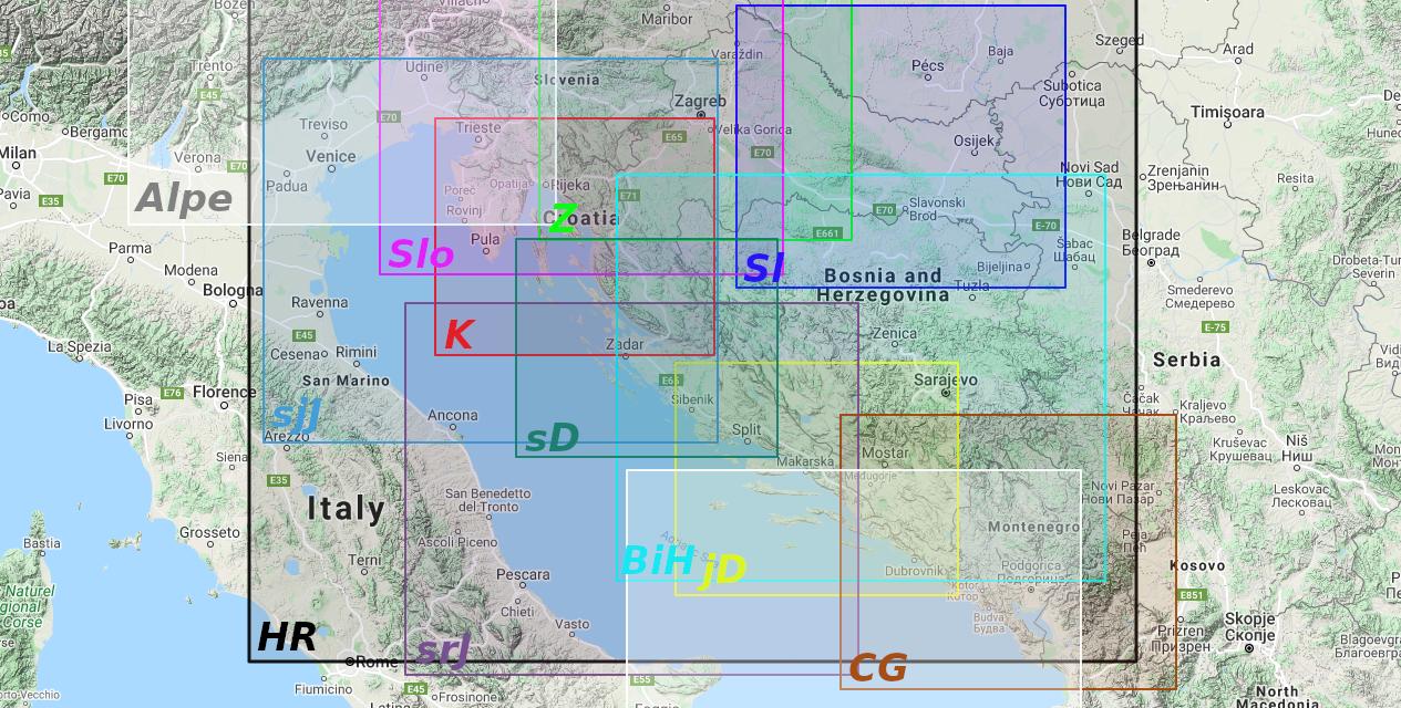 Dokumentacija modela MeteoAdriatic ARW 2021
