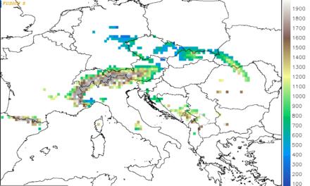 Izmjene na prognostičkim kartama, WRF-ARW (listopad 2020)