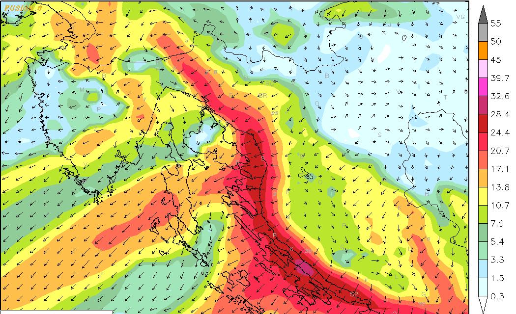 Slijede meteorološki dinamičnija događanja kroz sljedećih tjedan dana