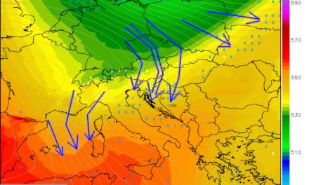 Vrlo vjetroviti petak i subota, znatno hladnije i općenito suho