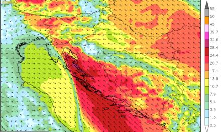 Atlantsko-genovsko-jadranska ciklona donosi višednevne nevolje s vremenom