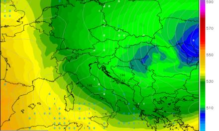 Ruska zračna masa donosi vrlo hladan vikend