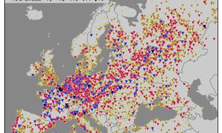 Prostorna razdioba pojave tornada u Europi i mogućnosti nastanka tornada u Hrvatskoj