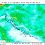 Nesezonska ciklona potencirana nestabilnom zračnom masom donosi značajnu promjenu vremena