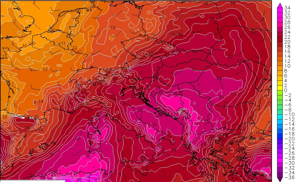 Značajan porast temperature do kraja tjedna