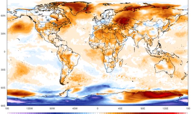 Globalna anomalija temperature (UAH, LT) za kolovoz 2021: +0,17°C